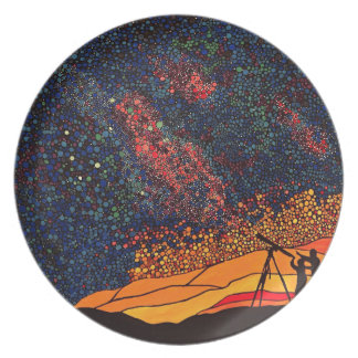 Star gazing plate