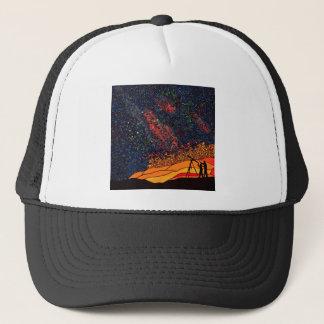 Star gazing trucker hat