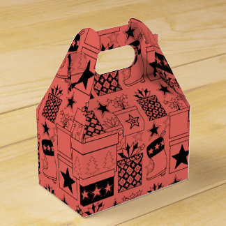 Star Gifts Lineart Design Favor Box