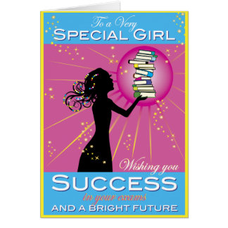 Star Girl Success Card