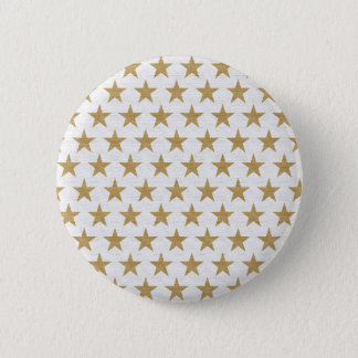 Star Gold pattern with cotton texture 2 Inch Round Button