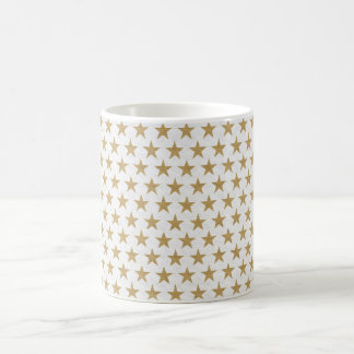 Star Gold pattern with cotton texture Coffee Mug