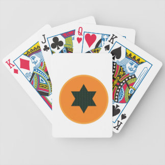 star half fruit bicycle playing cards