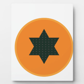 star half fruit plaque