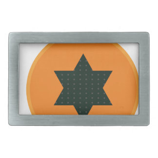 star half fruit rectangular belt buckles