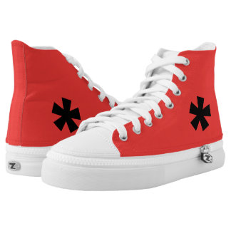 Star High Top Sneakers