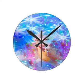 Star Horizon Round Clock