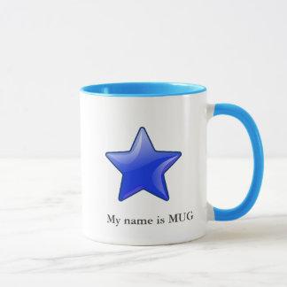star icon with your name - mug2 mug
