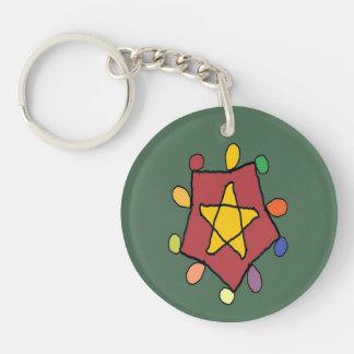 Star in Lights Keychain