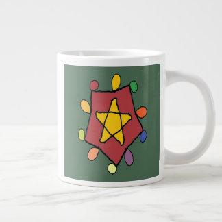 Star in Lights Large Coffee Mug
