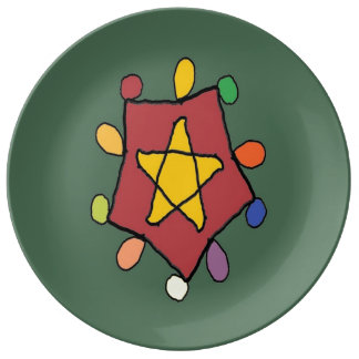 Star in Lights Plate