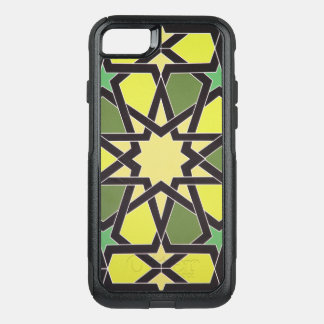 Star in the Heart of Sharjah: Cool Vintage Pattern OtterBox Commuter iPhone 8/7 Case