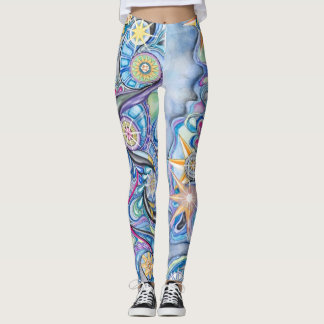 Star Light, Star Bright, Starry Night Leggings