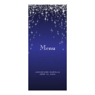 Star Lights in Dark Blue - Menu