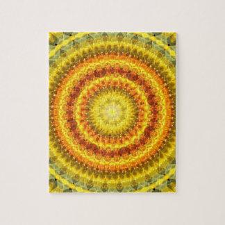 Star Lotus Mandala Jigsaw Puzzle