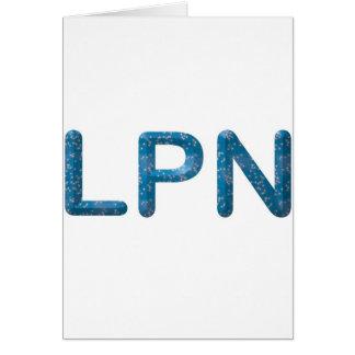 Star LPN Greeting Card