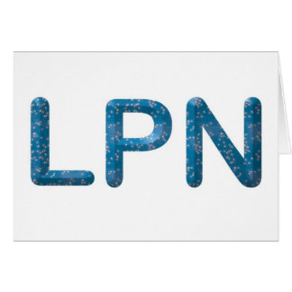 Star LPN Greeting Cards