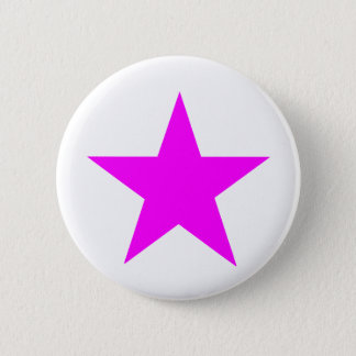 Star Magenta The MUSEUM Zazzle Gifts 2 Inch Round Button