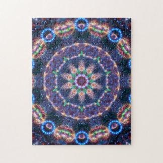 Star Magic Mandala Jigsaw Puzzle