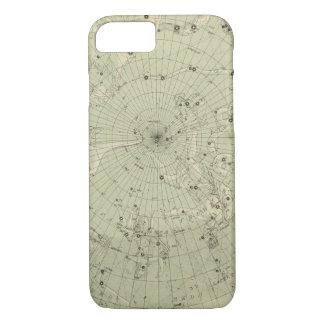Star map of North polar region iPhone 7 Case