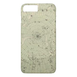 Star map of North polar region iPhone 7 Plus Case