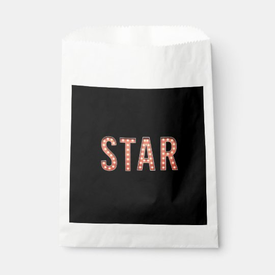 STAR Marquee Lights Favour Bag