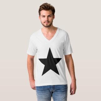Star / Men's American Apparel Fine Jersey V-neck T-Shirt