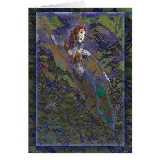 Star Mermaid Greeting Cards
