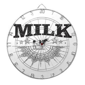 Star milk black cow dartboard