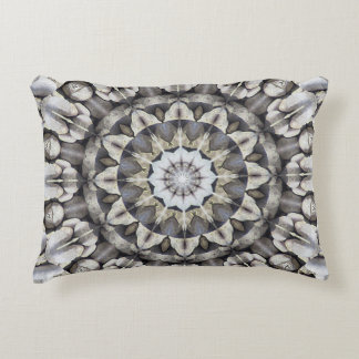 Star Mosaic Fantasy Fractals Art Pattern Decorative Pillow