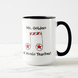 Star Musical Note Music Teacher Gift