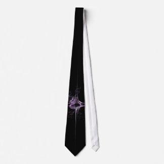 Star of Amethyst Fractal Tie