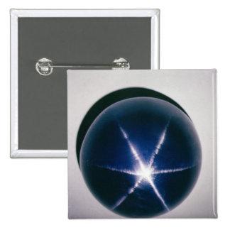 Star of Asia 2 Inch Square Button