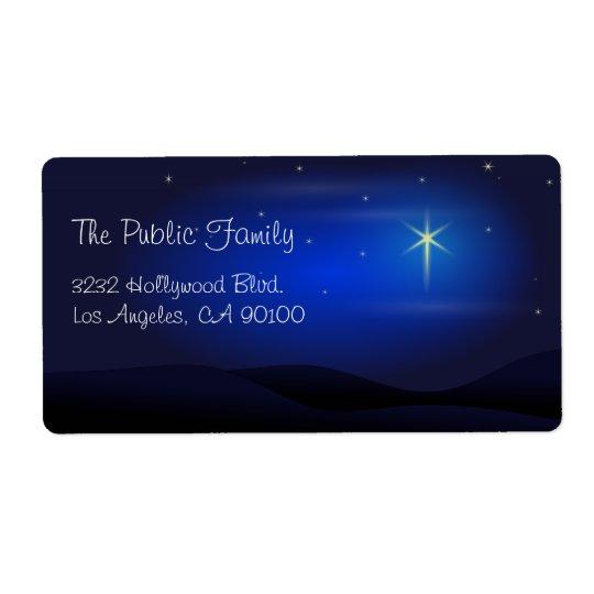 Star of Bethlehem Christmas Night