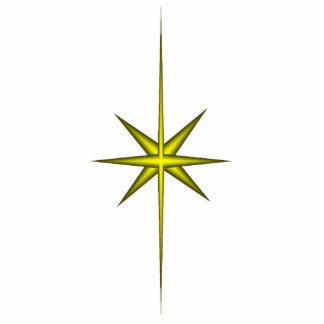 Star of Bethlehem Ornament Photo Sculpture Ornament