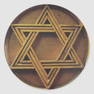 Star of Davi Round Sticker