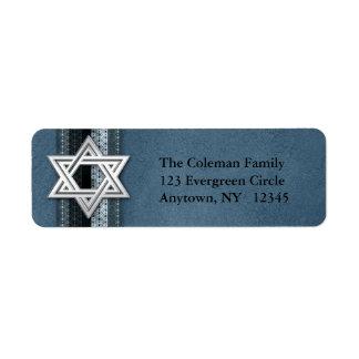 Star of David Address Label