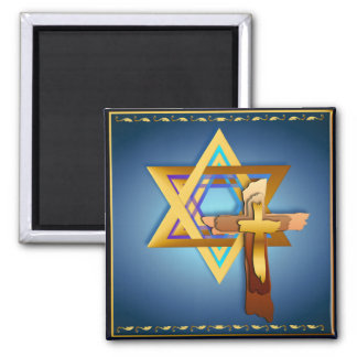 Star Of David and Triple Cross Magnets