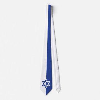 Star of David Bar Mitzvah blue, white Tie