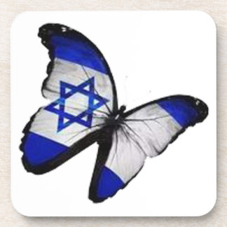 Star of David Butterfly Coaster