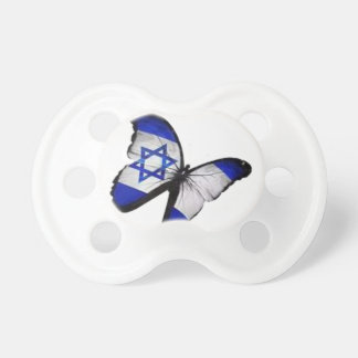 Star of David Butterfly Pacifier