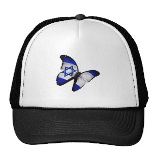 Star of David Butterfly Trucker Hat