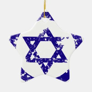 Star of David Ceramic Star Ornament