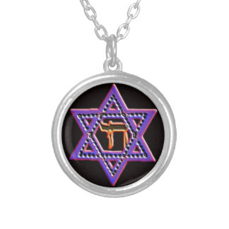 Star of David Chai necklace