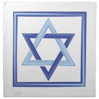 Star Of David Cloth Napkin