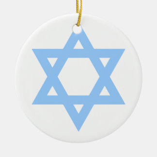 Star of David Customized Hanukkah Ornament