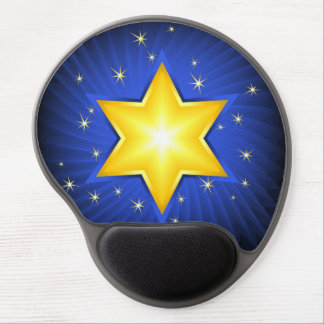 Star of David Gel Mouse Pad
