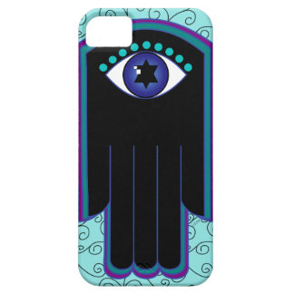 Star of David Hamsa iPhone 5 case
