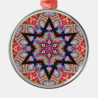 Star of David - Hanukkah - Colorful Ornament