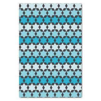 Star of David Hanukkah Modern Tissue Paper Pattern